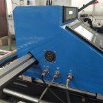 пренослив CNC 43A моќ плазма машина за сечење СТАРТ Бренд LCD панел систем за контрола плазма сечење метал машина цена