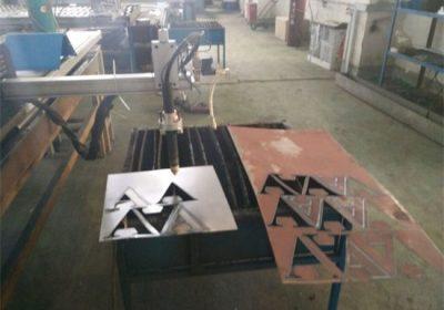 CNC плазма машина / квадратна цевка круг челични цевки CNC плазма машина за сечење